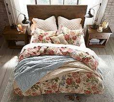 Pottery Barn Down Comforter Thistle Floral Print Organic Duvet Cover U0026 Sham Pottery Barn