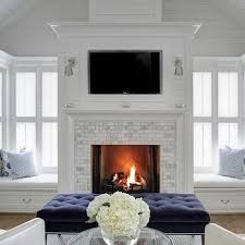 Decorations Tv Over Fireplace Ideas by Best 25 Fireplace Windows Ideas On Pinterest Contemporary