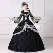 robe de mari e gothique antoinette dress victorienne gothique période noir