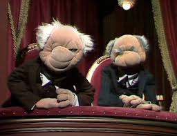 Waldorf And Statler Meme - ideal statler and waldorf muppets pinterest testing testing