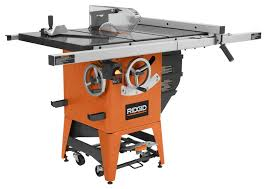 Ridgid Table Saw Review Review Ridgid 4511 Granite Table Saw Really Good Saw At A Great