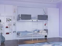 Twin Wall Murphy Bunk Bed Pensiero - In wall bunk beds