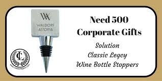creative classic legacy gift ideas for 500 corporate clients