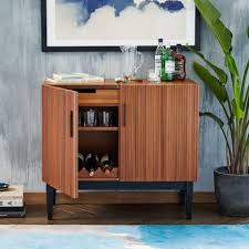 west elm bar cabinet mid century style reede bar cabinet from west elm retro to go
