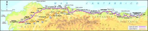 camino compostela walking the camino norte from bayonne to santiago de