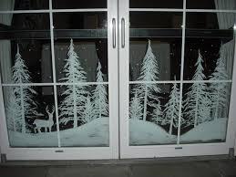 Classy Christmas Window Decorations by Best 25 Window Paint Ideas On Pinterest Window Art Old Window