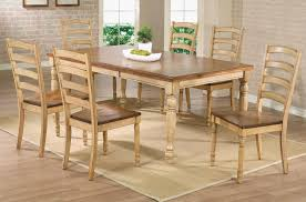 wheat transitional 5 piece dining set quails run rc willey