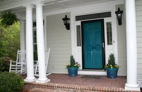 teal front door amy spencer interiors