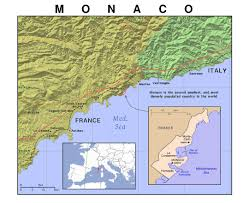 Cannes Map by Maps Of Monaco Detailed Map Of Monaco In English Tourist Map