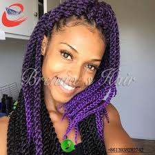 ombre crochet braids 22inch 3d cubic twist crochet braids ombre braiding hair synthetic