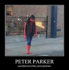 Sad Spider Meme - poor spider man very demotivational demotivational posters