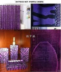 Zebra Print Bathroom Rugs 18 Best Purple And Grey Bathroom Images On Pinterest Bathroom