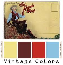 68 best vintage color palettes images on pinterest vintage