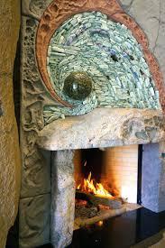 honoring creation unique fireplace river decorating ideas corner