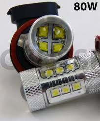 Led Lights Bulbs by For 2011 2013 Toyota Sienna Daytime Running Light Super Bright 80w