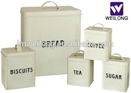 square kitchen canisters food grade kitchen square metal storage canisters set bread box