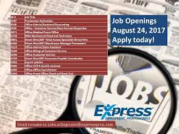 Resume To Job by Express Employment Professionals Arlington Texas Home Facebook