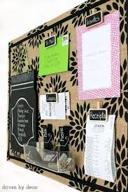 kitchen message board ideas 20 cool bulletin boards you can set up yourself