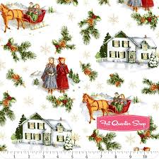 christmas fabric fat quarter shop