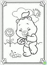 care bears coloring pages print care bears flying