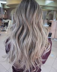 does hair look like ombre when highlights growing out beige ash blonde client come in with grown out ombre melted from