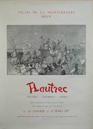 bureau poste toulouse 1957 original exhibition poster palais de la mediterranee