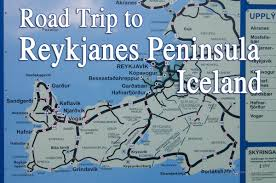 Europe Peninsulas Map Road Trip To Reykjanes Peninsula Iceland