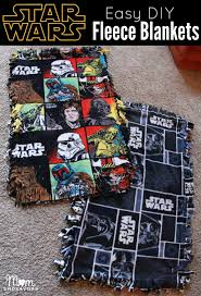 happy thanksgiving star wars easy diy star wars fleece blankets