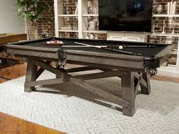 loft pool table by california house pool table game rooms