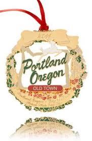 2011 portland ornament historic white stag sign