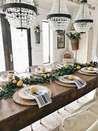 summer lemon farmhouse dining room liz marie blog