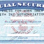social security card template cyberuse with regard to fake