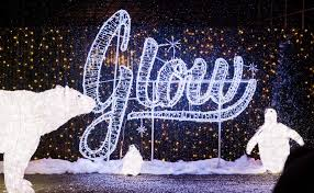 glow christmas light garden u0026 market to feature 210ft light tunnel