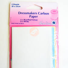 How To Make Carbon Paper At Home - dressmakers carbon paper in 3 colours