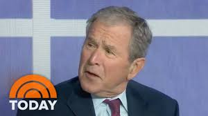 george w bush talks about the veterans behind u0027portraits of