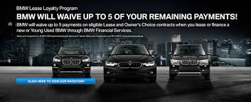 bmw lease programs passport bmw will waive up to 5 of your remaining payments