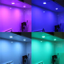 rgb led puck lights rgb led puck lights led bar 12v under cabinet lighting kit for