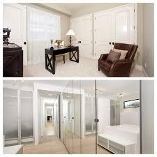 regular vs mirrored closet doors