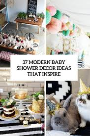 modern baby shower decorations home decorating interior design