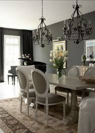 Pin Obsessed Favorite Finds Large Chandeliers Transitional - Grey dining room