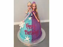 doll cake doll cake elsa rapunzel tangled carolina confection