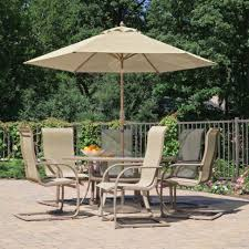 home design exquisite outdoor patio dining sets with umbrella