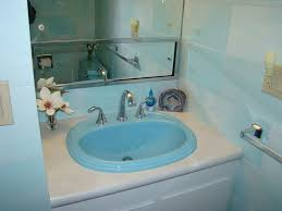 Can You Paint A Fiberglass Bathtub Paul Paints 3 Fiberglass Bathroom Sinks Different Colors At An