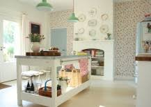 shabby chic kitchen island trendy display 50 kitchen islands with open shelving