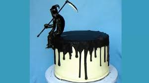 halloween witch cake ideas a delicious death cake for halloween halloween death cake