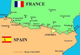 Pyrenees Mountains Map Across The Pyrenees Bibbulmun Track
