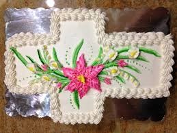 cross cake with lilies cake decorating how to youtube