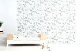chambre fille taupe papier peint pour chambre fille joli papier peint enfant animaux de