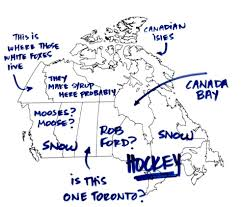 americans were asked to label a map of canada album on imgur