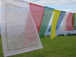 Prayer Flags Tibetan Prayer Flags String Of Five Large Flag In High Grade